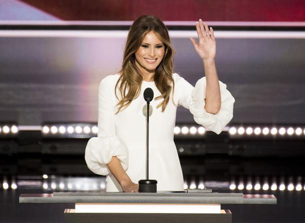 Czy Melania Trump stanie się ikoną stylu?