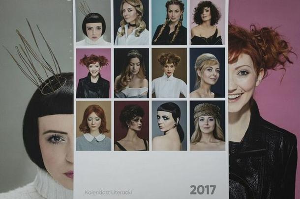 Kalendarz inspirowany fryzurami z bajek