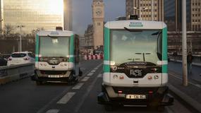 Autonomiczne minibusy w Paryżu. Próbna jazda za darmo