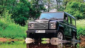 Land Rover Defender 110 - Mocny nie tylko w gębie