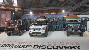 Wielka podróż Land Rovera Discovery