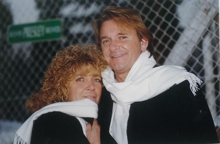Feleségével  Komár Krisztinával