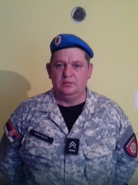 Slavisa Matejić je iz policijske stanice prešao u Žandarmeriju