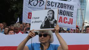Manifestacja KOD w czasie szczytu NATO w Warszawie