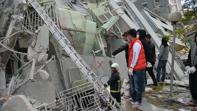 Borzalmas pusztítást végzett a földrengés / Fotó: AFP