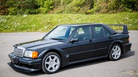Mercedes 190E 2.5-16 Evo II w dobrej cenie, ale i tak drogo
