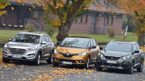 Hyundai Tucson kontra Peugeot 3008 i Renault Scenic - który model będzie najlepszym wyborem?