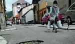 Ulice u centru grada kao TENKOVSKI POLIGON