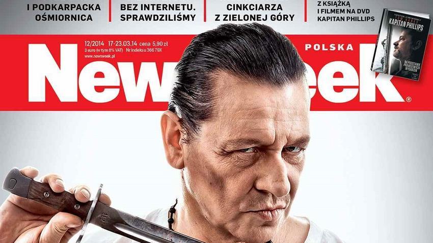 Okładka nowego tygodnika Newsweek: Maleńczuk .