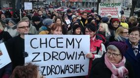 """Manifa i Strajk Kobiet w Gdańsku. """"Chcemy zdrowia, nie zdrowasiek"""""""