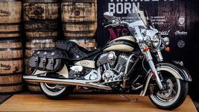 Motocykl Indian Chief Vintage w malowaniu Jack Daniel's pomoże żołnierzom