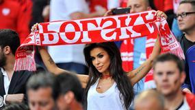 Partnerki piłkarzy i nie tylko kibicowały Polakom w meczu z Niemcami
