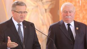 Bronisław Komorowski i Lech Wałęsa zgodnie o rządach PiS