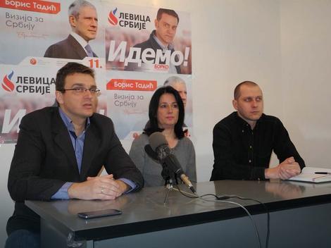 Predstavnici stranaka nove koalicije