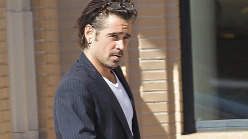 Colin Farrell na ulicy - BEW