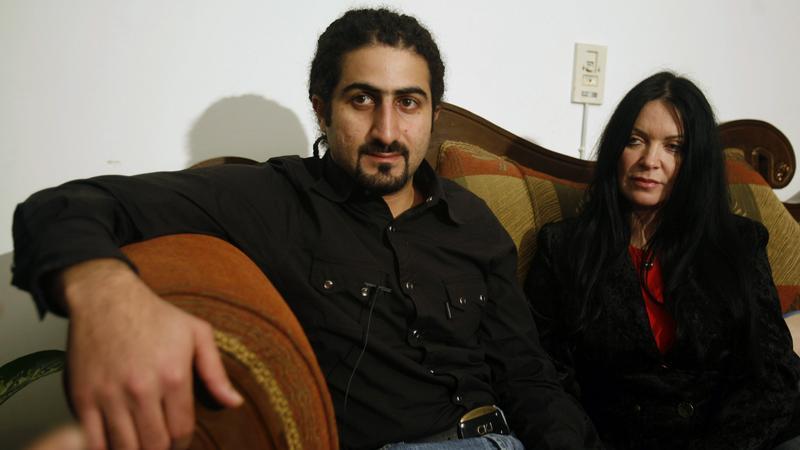 Omar bin Laden, syn Osamy wraz z żoną Zainą al Sabah-bin Laden, fot. Reuters