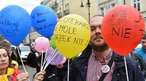 Protest muzealników w Krakowie
