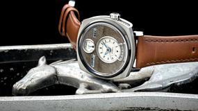 Samochód nie ucierpiał w trakcie produkcji zegarka