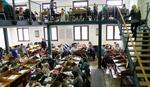 MARLJIVO UČE I pored lepog vremena studenti od ranih jutarnjih sati u čitaonicama