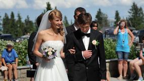 Tak żony polskich sportowców wyglądały w dniu ślubu