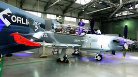 PZL 130 Orlik MPT - prezentacja najnowszego samolotu szkolno-treningowego
