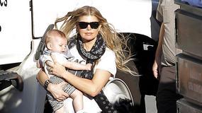 Fergie pokazała się z synkiem