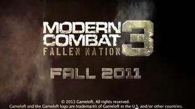 "Gameloft zapowiada ""Modern Combat 3"""