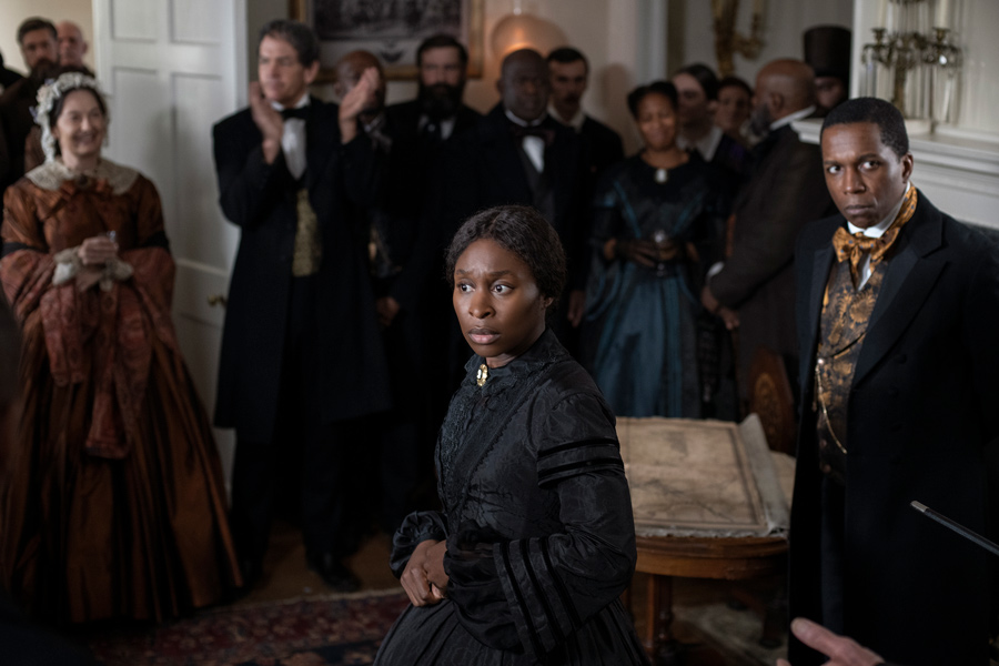 Cynthia Erivo merely convinced Gregory Allen Howard by opening her mouth to speak. [focusfeature]