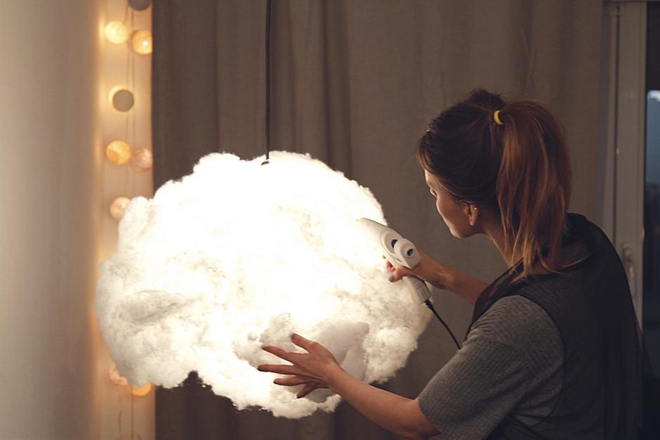 Doklej elementy chmurki