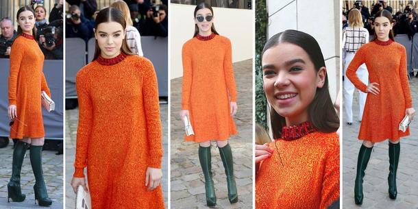 Best Look: Hailee Steinfeld w sukience Diora