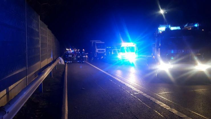 A kamion és az kocsi utasai nem sérültek meg/Fotó:Blikk