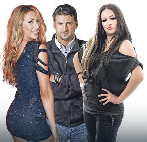 Rada Manojlović, Vanja Grbić i Ivana Peters