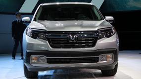 Honda Ridgeline - powrót japońskiego pick-upa (Detroit 2016)