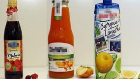 Ile owoców jest w sokach i napojach? Sprawdź