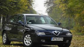 Alfa Romeo 166 2.4JTD - Charakter w cenie