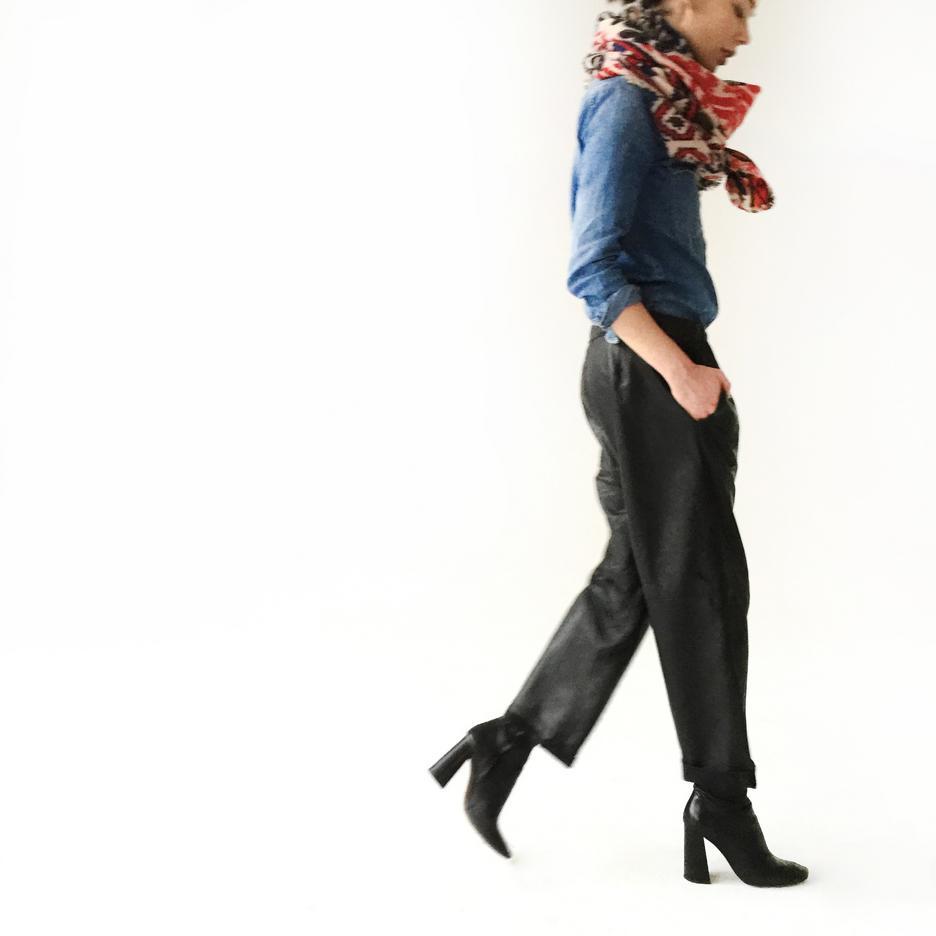Spodnie skórzane BTW Collection