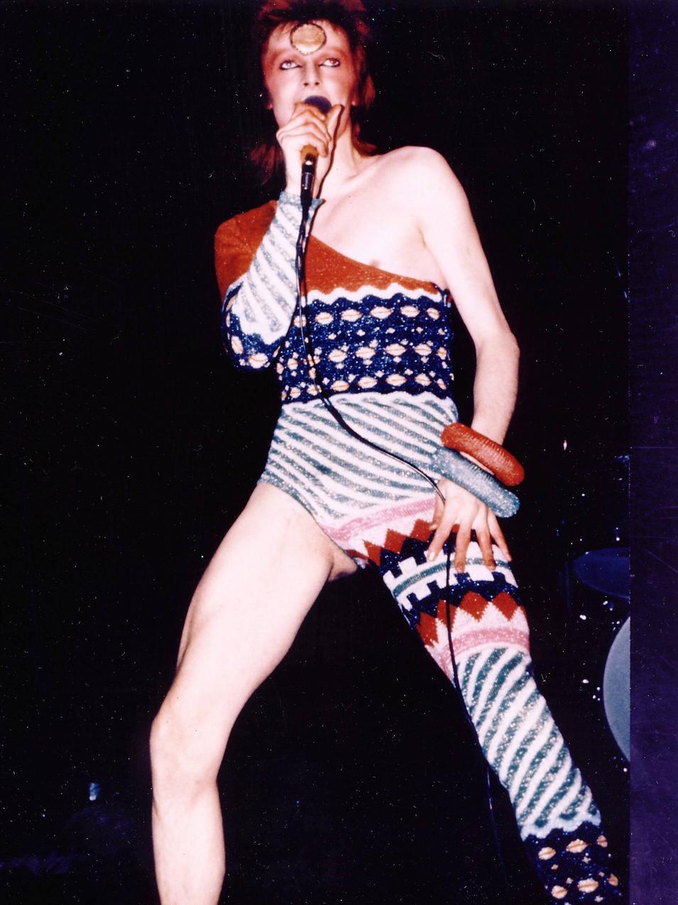 David Bowie jako Ziggy Stardust