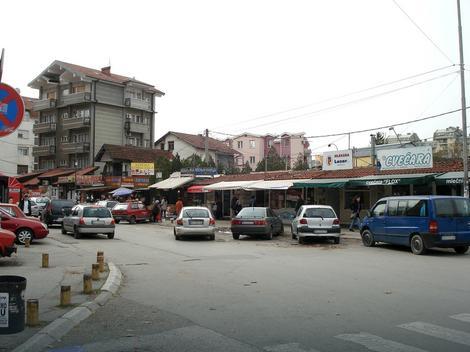 Ulica Boska Buhe u kojoj je doslo do sukoba sa komunalnom policijom zbog nepropisnog parkiranja
