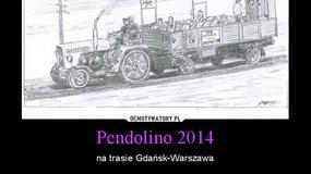 Internauci śmieją się z Pendolino