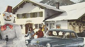 Opel: zimowe plenery