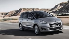Odświeżony 5008 dołącza do gamy modeli Peugeota