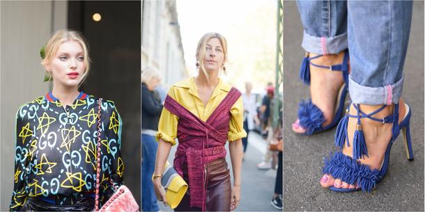 Street style na Fashion Weeku W Mediolanie