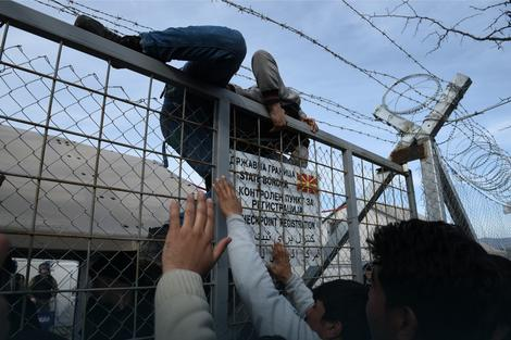 Haos na grčko-makedonskoj granici