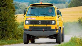 Volkswagen T3 Syncro Rebell - Furgon który cieszy mocą