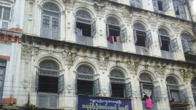 Birma - życie codzienne w Rangunie