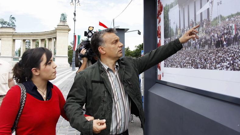 Orbán Viktor legidősebb lány, Orbán Ráhel a Corvinus oktatója /Fotó: MTI-Geberle Berci