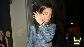 Pippa Middleton wysiada z rikszy