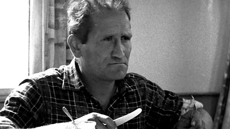 "Jan Himilsbach w filmie ""Rejs"""