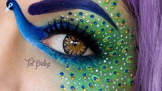 Niesamowite makijaże powiek. Postaci z filmów i bajek na powiekach