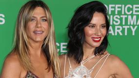 """Jennifer Aniston, Olivia Munn i Katy Perry na premierzy filmu """"Firmowa Gwiazdka"""""""